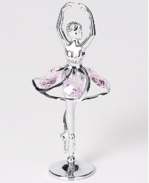 Pink Crystal Ballerina