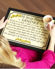 Personalised Poem Laptray