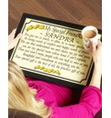Personalised Poem Lap Tray
