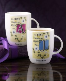Personalised Initial Mugs