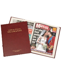Personalised Colour Royal Wedding Book