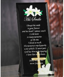 Smile Poem Glass Prayer