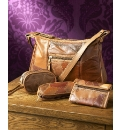 4 Piece Patchwork Leather Handbag Set
