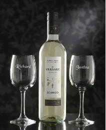 Personalised Wine Lovers Set