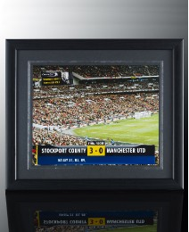 Personalised Framed Football Stadium