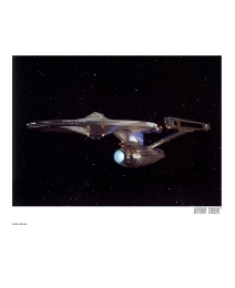 Star Trek Enterprise Print