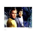 Star Trek Kirk And Spock Pop Art Print
