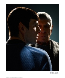 Star Trek Spock Past & Present Print