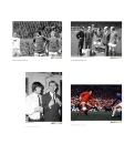Set Of 4 Manchester United Prints