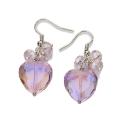 Malissa J Modena Heart Drop Earrings