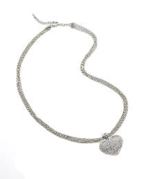Malissa J Cherry Heart Pendant Necklace