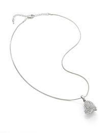 Malissa J Lychee Heart Necklace