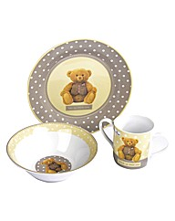 George Bear 3 Piece Breakfast Set