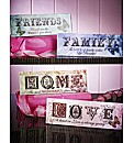 Set Of Four Sentiment Plaques