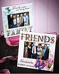 Family and Friends Butterfly Photoframes