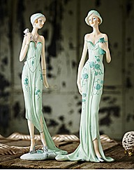 Olive and Clara Art Deco Ladies