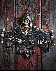 Welcome To Hell Door Sign