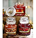 Yankee Candle Set Of 3 Small Jars