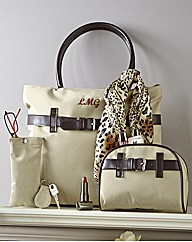 Personalised Bag and Scarf Set