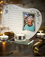 His Smile Poem Tealight
