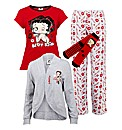 Personalised Betty Boop Pyjama Set