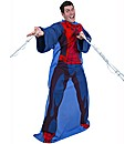 Spiderman Adult Sleeved Fleece