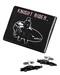 Knight Rider Wallet & Cufflinks