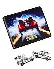 Back To The Future Wallet & Cufflinks