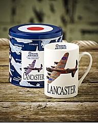 RAF Mugs in Tins