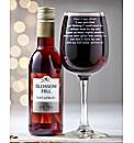 Personalised Survival Wine Set