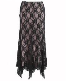 Petite Joanna Hope Godet Lace Skirt