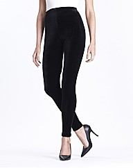 Joanna Hope Velour Leggings 27in