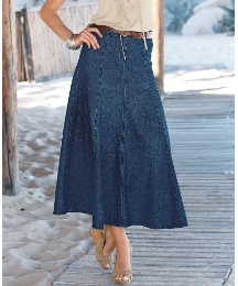 Changes By Together Denim Skirt