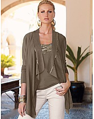 Changes By Together Jersey Cardigan