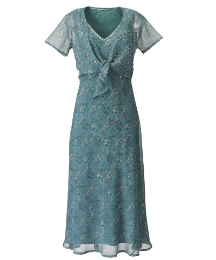 Fusions By East Dress and Beaded Bolero