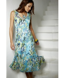 Fusions By East Floral Print Dress