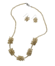Fusions By East Necklace And Earring Set