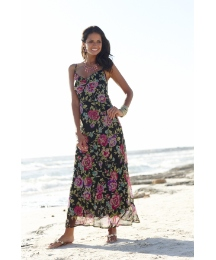 Joanna Hope Print Maxi Dress and Bolero