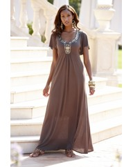 Joanna Hope Sequin Jersey Maxi Dress