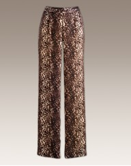 Joanna Hope Print Trousers Length 29in