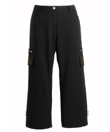 Joanna Hope Stretch Stud Crop Trouser