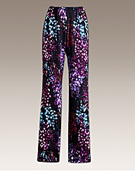 Joanna Hope Print Palazzo Trouser 29in