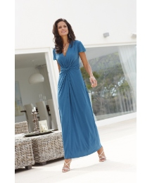 Joanna Hope Twist Front Maxi Dress