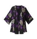 Joanna Hope Print Kimono Overblouse