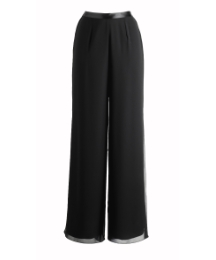 Joanna Hope Wide Leg Chiffon Trouser