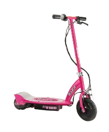 Razor E100 Electric Scooter Pink