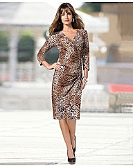 Changes By Together Animal Print Dress