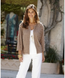 Joanna Hope Ruffle Jacket