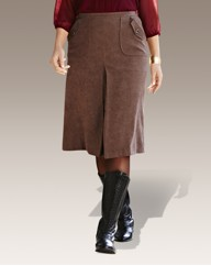 Joanna Hope Mock Suede Skirt