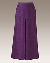 Joanna Hope Mock Suede Maxi Skirt